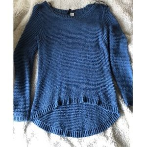 H&M's Blue Knit Sweater